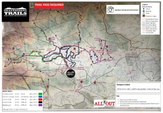 Drakensberg Trails Map